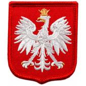 Orzełek haftowany Godło RP na mundur galowy, wyjściowy
