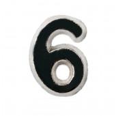 """Cyfra do baretki """"6"""""""