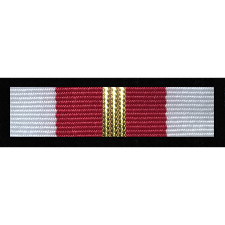 Baretka Medal Za zasługi dla obronności kraju - Złoty (nr prod. 16 zł)