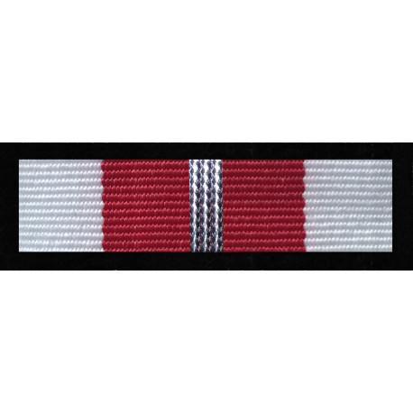Baretka Medal Za zasługi dla obronności kraju - Srebrny (nr prod. 16 sr)