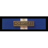 Baretka NATO NON ARTICLE 5 z wpinką (nr prod. 20WP)