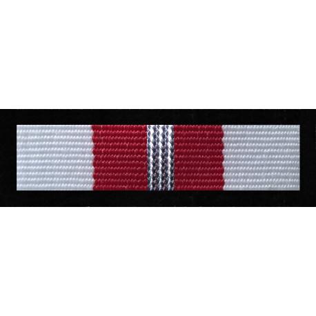Baretka Medal Za Zasługi dla Pożarnictwa - Srebrny (nr prod.53 sr)