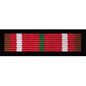 """Odznaka """"Za zasługi dla Związku Żołnierzy WP - brązowa (nr prod. 77 br)"""