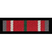 """Odznaka """"Za zasługi dla Związku Żołnierzy WP - srebrna (nr prod. 77 sr)"""