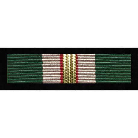 Baretka Medal Za Zasługi dla Straży Granicznej - Złoty (nr prod. 111 zł)