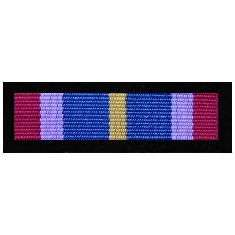 Baretka Odznaka Pamiątkowa PKW KFOR  XXXIX zmiana