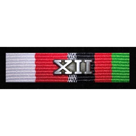Medal pamiątkowy XII zmiany RSM Afganistan (nr prod 38B)