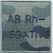 Grupa krwi ABRh- na mundur polowy wz. 2010 emblemat