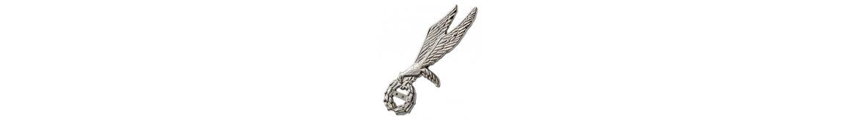 Gapy-odznaki skoczków, pilotów, techników